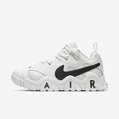 Nike Air Barrage Low [CW3130-100] 男鞋 運動 休閒 籃球 穿搭 潮流 緩震 舒適 白黑