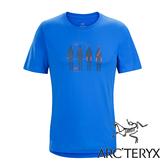 Arc'teryx 加拿大 始祖鳥 男 LOGO短袖T恤『參宿藍』L06867 吸濕排汗透氣T-shirt短袖運動衫 排汗衫