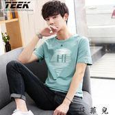 韓版男士短袖t恤