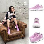 adidas 慢跑鞋 POD-S3.1 W 紫 粉紫 白 透氣編織鞋面 P.O.D System 全新系列 女鞋 運動鞋【PUMP306】 B37469