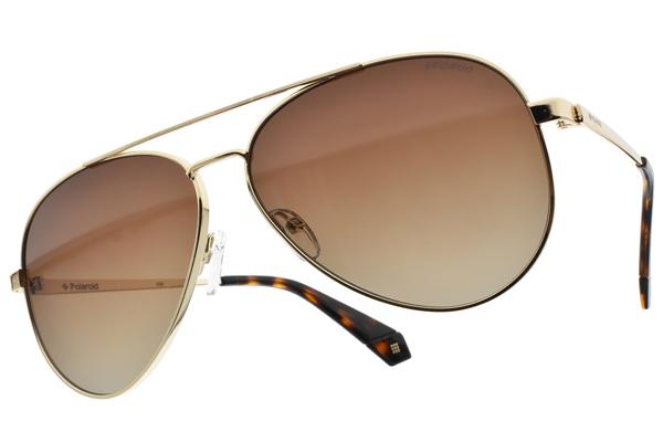 Polaroid 偏光太陽眼鏡 PLD6069SX J5GLA (金-漸層棕) 個性風復古嬉皮款 漸層鏡面# 金橘眼鏡