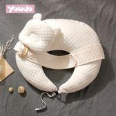 哺乳枕頭 多功能喂奶神器護腰 寶寶新生兒學坐枕嬰兒喂奶枕防吐奶『小淇嚴選』