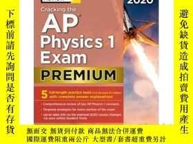 二手書博民逛書店Cracking罕見the AP Physics 1 Exam