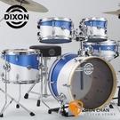 Dixon JET BW 旅行爵士鼓組 藍白合色 內含 9270PK 腳架組/鼓椅 不含套鈸可另外加購