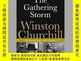 二手書博民逛書店The罕見Gathering Storm-聚集的風暴Y436638 Winston S. Churchill