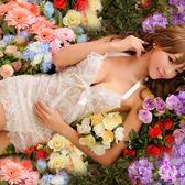 『送丁字褲』愛戀之迷!二件式蕾絲睡襯衣 -邱比特情趣用品 性感睡衣