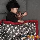 兒童小毛毯雙層加厚午睡秋冬被子蓋毯夾棉安撫豆豆毯【淘嘟嘟】