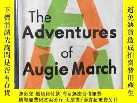 二手書博民逛書店The罕見adventures of Augie March by Saul Bellow -- 索爾 貝婁《奧吉