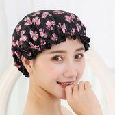 浴帽防水成人女款淋浴沐浴帽子韓國家用長發洗澡頭套發罩可愛浴帽 艾尚旗艦店