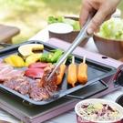 日本Yoshikawa烤肉夾18-0不銹鋼牛排食品夾防污染燒烤夾面包夾子 生活樂事館