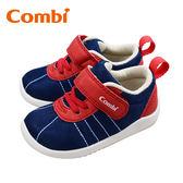 康貝Combi 玩轉經典幼兒機能鞋-綻紅藍