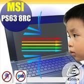 ® Ezstick MSI PS63 8RC 防藍光螢幕貼 抗藍光 (可選鏡面或霧面)