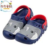 《布布童鞋》SKECHERS_HET_SWELL_鯊魚深藍色兒童布希鞋(17~22公分) [ N0S74LB ]