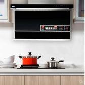 抽煙機家用廚房吸煙機壁掛式抽油煙機自動清洗大吸力側吸式脫排吸油煙機igo220V 貝兒鞋櫃