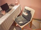 加熱坐墊辦公室久坐靠墊靠背一體電熱冬季屁股墊椅子椅墊座椅墊ATF 沸點奇跡