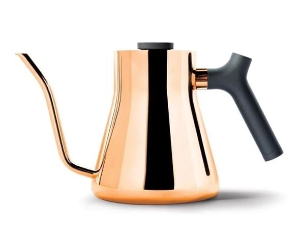 金時代書香咖啡 FELLOW STAGG v1.2 不鏽鋼測溫細口手沖壺 1L 玫瑰金 FELLOW-V12GD