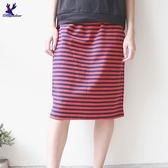American Bluedeer- 條紋窄裙 春夏新款