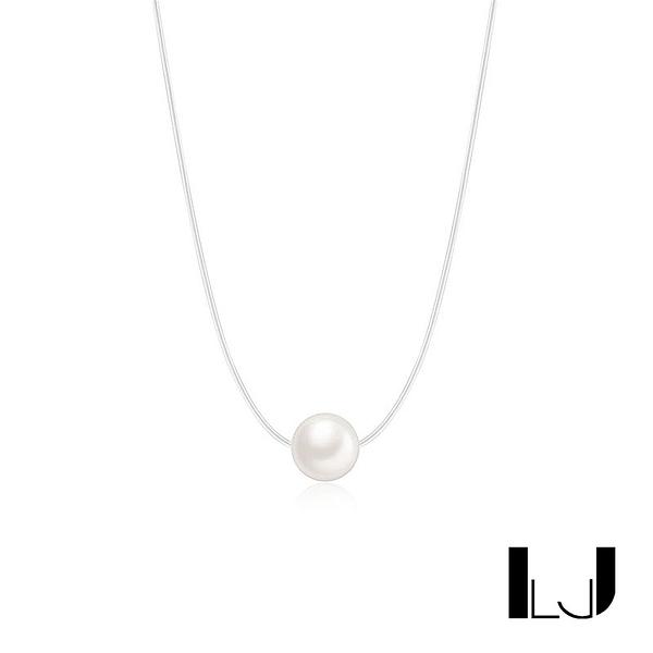 Little Joys 質感細線淡水珍珠項鍊 925銀 旅美原創設計品牌