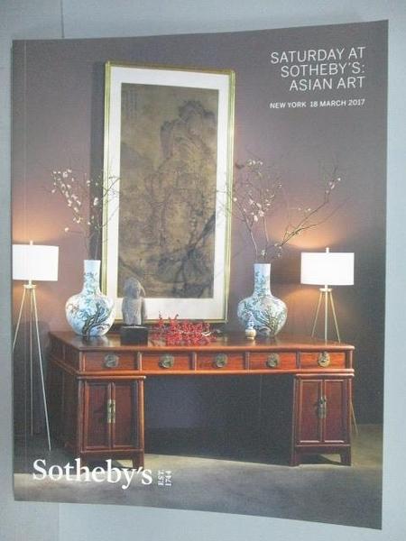 【書寶二手書T3/收藏_EU8】Sotheby s_Saturday at Sotheby s:Asian Art_20