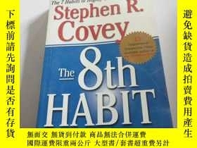 二手書博民逛書店the罕見8th HABIT(英文)Y200392 stephe