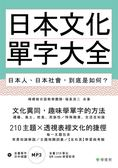 日本文化單字大全:日本人、日本社會,到底是如何?