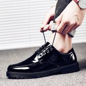 萬聖節狂歡   春季男鞋子韓版休閒小皮鞋男士潮流學生豆豆潮鞋百搭英倫   mandyc衣間