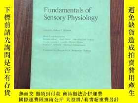 二手書博民逛書店fundamentals罕見of sensory physiol