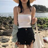 ★現貨★夏季細肩帶海灘風性感小背心