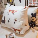 三角抬腿枕【無法超取!】狐狸馬 尺寸 53X45X25cm 尺寸因手工縫製可能有5%誤差