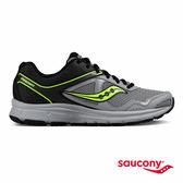 SAUCONY COHESION 10 專業訓練鞋款-黑X灰X螢光綠
