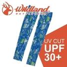 【Wildland 荒野 中性開洞抗UV透氣袖套《水藍》】W1809/春夏款/抗UV/防曬袖套