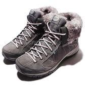 HI-TEC Equilibrio Bellini Snug I WP WS 貝里尼 灰 紫 靴子 反折靴 女鞋 戶外鞋 【PUMP306】 O005700051