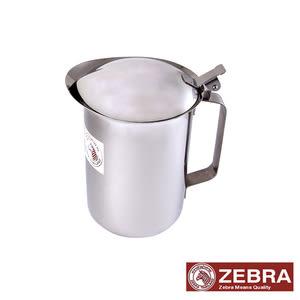 【Zebra 斑馬】不鏽鋼掀蓋式冷水壺 1.5公升