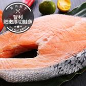 智利肥嫩厚切鮭魚(360g±10%/片)(食肉鮮生)
