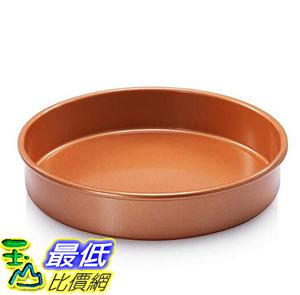 [8美國直購] 圓形烤盤 Gotham Steel Bakeware Round Baking Pan with Nonstick Copper Quick Release Coating