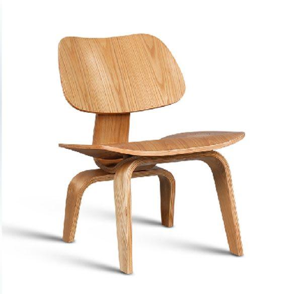《Chair Empire》伊姆斯曲木椅-矮凳LCW 胡桃木Eames chair伊姆斯小狗椅實木凳 貝殼椅