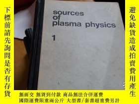 二手書博民逛書店sources罕見of plasma physics volum