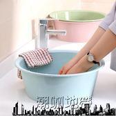 面盆加厚塑料洗臉盆家用大號洗菜盆洗衣盆「潮咖地帶」