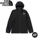 【The North Face 男 防風防潑軟殼外套《黑》】4CKY/防風外套/夾克/運動夾克/薄外套