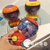 親子玩具-鯊魚游戲水機好玩的鯊魚吃小魚玩具親子互動懷舊手眼協調玩具-奇幻樂園