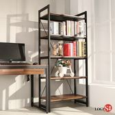 LOGIS  耐磨PVC防潑水工業風五層櫃 工作櫃 辦公櫃 書櫃 層架(長82x寬40x高177公分) B03