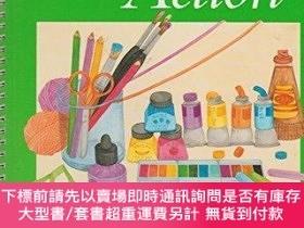二手書博民逛書店Art罕見in Action: Grade 6-行動藝術:6年級Y414958 Guy Hubbard Hou
