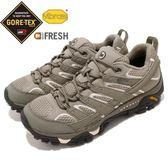 Merrell 戶外鞋 Moab 2 GTX 灰 白 Gore-Tex 防水 透氣 越野 休閒鞋 運動鞋 女鞋【PUMP306】 ML12130