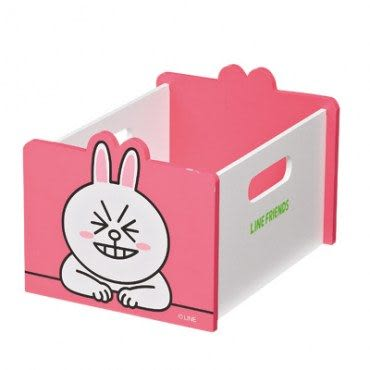 LINE FRIENDS 兔兔手提多功能收納盒