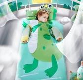 嬰兒童睡袋小孩四季通用秋冬款中大童加厚冬季寶寶純棉防踢被神器 夢露