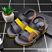 男童涼鞋 新款夏季中大童正韓小童沙灘鞋小孩童鞋 米蘭shoe