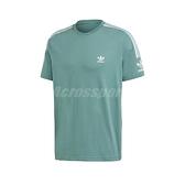 adidas 短袖T恤 Adicolor Tee 綠 白 男款 短T 運動休閒 【ACS】 FM3799