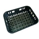 香菇籃10入組 (黑色)。WUKON。塑膠籃FB-01BK