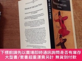 二手書博民逛書店葛瑞漢罕見晚唐詩 Poems of the Late TangY12487 A. C. Graham Peng