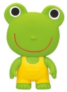 『121婦嬰用品館』貝親 樂雅軟膠-青蛙